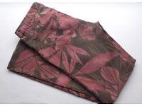 Vintage Tropical Print Boot Cut Jeans, Zara, 8-10