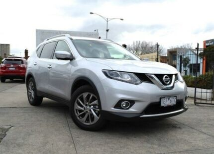 2014 Nissan X-Trail T32 TL X-tronic 2WD Brilliant Silver 7 Speed Constant Variable Wagon Abbotsford Yarra Area Preview