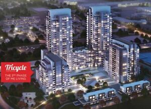 VVIP Sale For TRICYCLE CONDOS, MARKHAM/ELLESMERE