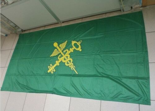 Vintage Flag Pennant Customs RB Soviet Russian