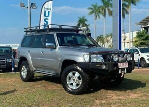 2010 Nissan Patrol GU 7 MY10 ST Silver 5 Speed Manual Wagon Berrimah Darwin City Preview