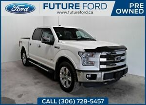 2016 Ford F-150 LARIAT   FORD CERTIFIED PRE-OWNED   FX4 WITH NAV