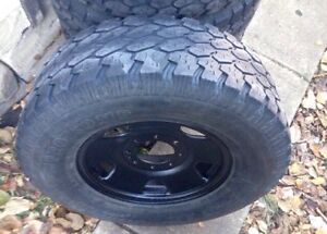 """17"""" F-250 / F-350 Rims with LT285/70/R17 Tires"""