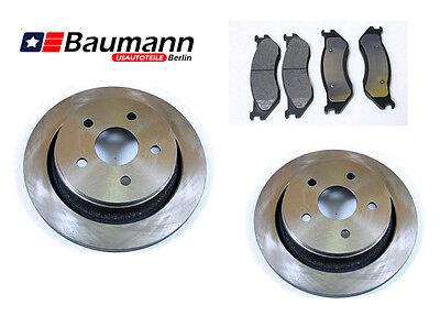 2 Bremsscheiben Satz Bremsklötze vorne Dodge RAM 1500 2006-2014 Pickup
