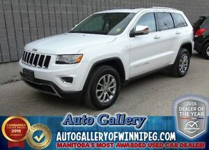 2015 Jeep Grand Cherokee Ltd4x4*Lthr/Roof/Nav