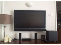 46 inch Sony Bravia flat screen tv and wall mount