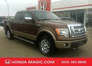 2012 Ford F-150 Lariat BLUETOOTH BACK UP CAMERA LEATHER INTERIOR