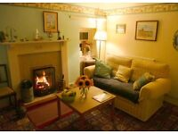 PORTSOY town centre, short term let available Sept, traditional cottage with open fires GCH + DG