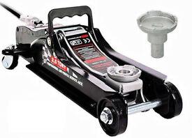 Brand New Hydraulic Floor Car Jack 2.5 Ton 2500kg Trolley Lifting range 80-360mm Garage tool