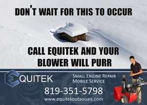Snowblower repair and maintenance -MOBILE SERVICE AVAILABLE-
