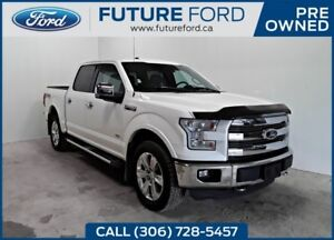 2016 Ford F-150 LARIAT|FORD CERTIFIED PRE-OWNED|FX4 WITH NAVIGAT