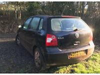 VW Polo 1.2 - 52 plate. Spares and Repairs.