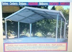 New  carport  6 x 6  $ 1650 or 6 x 9  $2500 Thomastown Whittlesea Area Preview