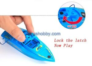 NEW Remote Control ready to run Mini Speed Boat for bath tub