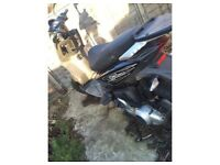 Moped Typhoon 125cc suffered minor crash RUNNER Kent welling /note hasn't gone threw INSURANCE