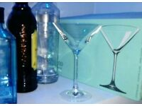 Cocktail glasses x6