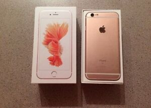 Brand new IPhone 6s Rose Gold 64GB Rogers