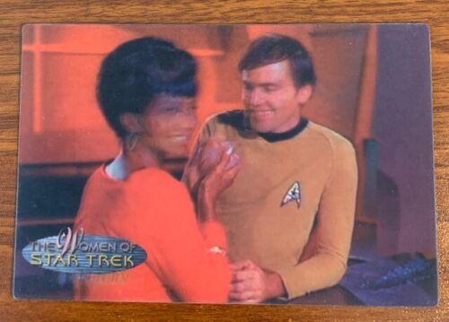 2000 Rittenhouse Women of Star Trek in Motion #31 Lieutenant Uhura Free Shipping