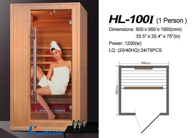 ELKA Infrrared Sauna from S$ 2980++ for home, office and fitness centre