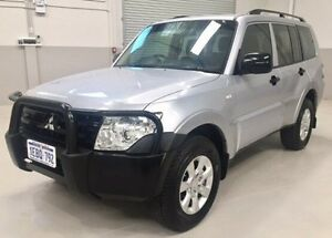 2012 Mitsubishi Pajero NW MY13 GLX Silver 5 Speed Sports Automatic Wagon Kenwick Gosnells Area Preview
