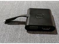 Dell DA200 Multi Adapter USB C to HDMI, VGA, Ethernet & USB 3