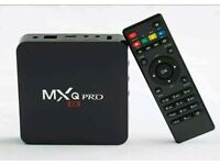 Android tv box with IPTV sub