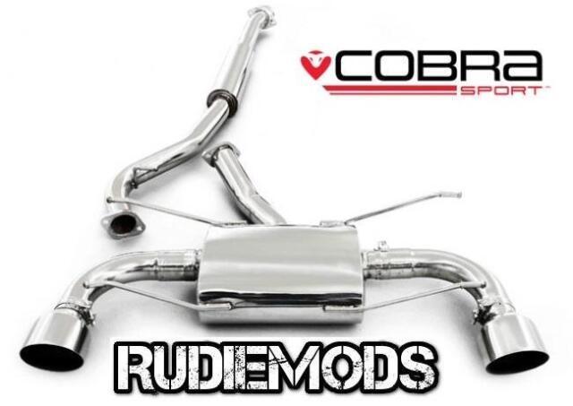 Cobra Sport fits Subaru BRZ Cat Back Exhaust System Resonated