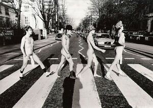 The Red Hot Chili Peppers Abbey Road POSTER