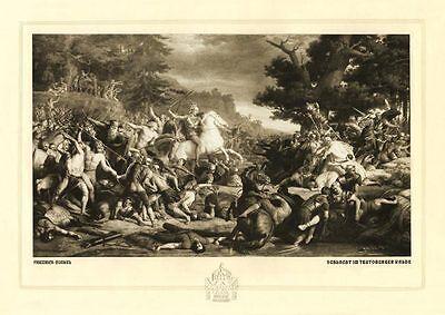 Schlacht im Teutoburger Wald Varusniederlage Hermannsschlacht Germanen Rom 104
