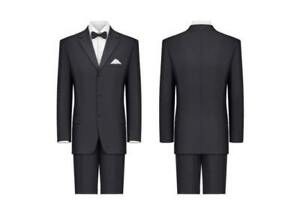 $99 New Dress Formal Wedding Party Prom Men Youth Suit+1 New Tie