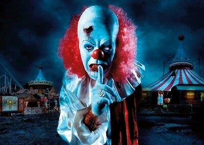 Pennywise IT Clown Shssh Poster