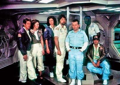 Alien 1979 Nostromo Crew Poster