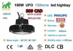 ******CHRISTMAS SPECIAL!! LED HIGH BAY UFO STYLE 150 W 130 lm/W ********