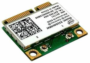 Intel half Advanced-N 6200 6200agn pci-e wireless card 622ANHMW