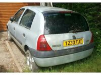 Renault Clio 1999 1.2 engine, gearbox, alloys, exhaust, door, boot,