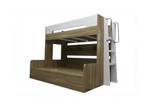 Tee Gaslift Trio Bunk Bed Single over Double St Clair Penrith Area Preview