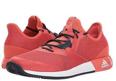 innovative design 08cb9 bab8d adidas ADIZERO DEFIANT BOUNCE mens tennis shoes (size 9.5 US) (color red)