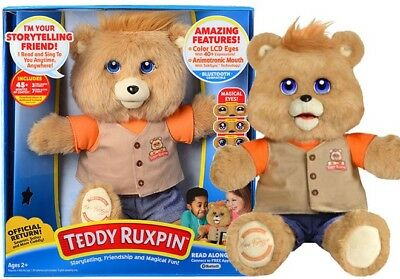 Teddy Ruxpin Bear Official Return Of The Storytime And Magical   3 Free Stories