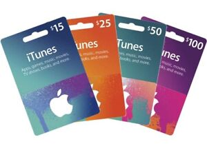 WANTED : iTunes gift card