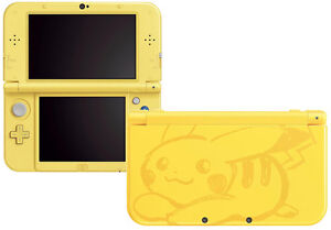 *Modded* Limited Edition Pikachu 3DS XL (SOLD OUT IN STORE)