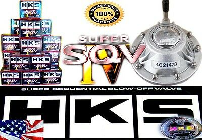 HKS SSQV4 BOV SUPER SEQUENTIAL SQV4 IV Turbo Blow Off Valve OEM OE 4- New Silver