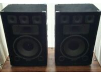 PA STUDIO SPEAKERS 750W - £90 ono