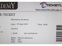 3 Stormzy tickets £150 ono