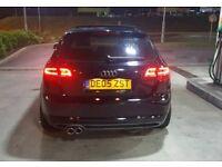 audi a3 s3 rs3 led rear lights facelift