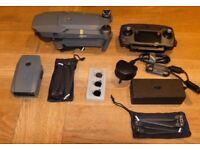 Dji Mavic Pro Brand New Folding 4K Pro Drone + Spares