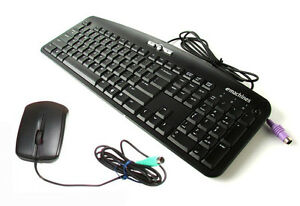emachines PS2 Standard Wired Keyboard and Mouse Combo