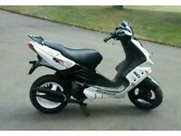 Peugeot speedfight 2 100cc moped scooter . Not aerox sym jet lexmoto piaggio gilera nrg zip 125cc