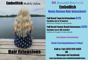 Weddings, Hair Extensions, Hair Colour, Highlights, Cuts & More Belleville Belleville Area image 6