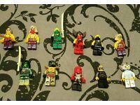 Ninjago lego figures