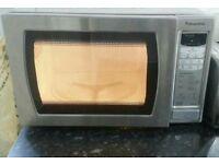 Panasonic Microwave Silver